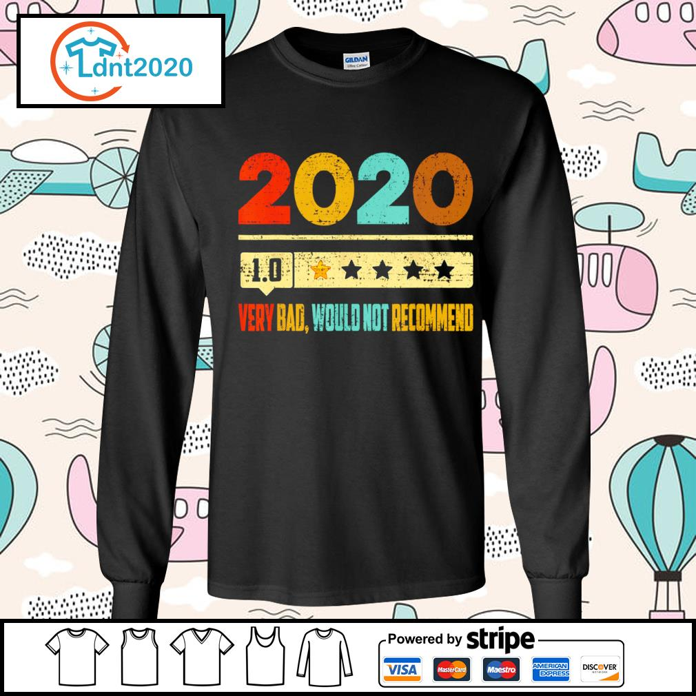 2020 1.0 very bad would not recommend vintage s longsleeve-tee