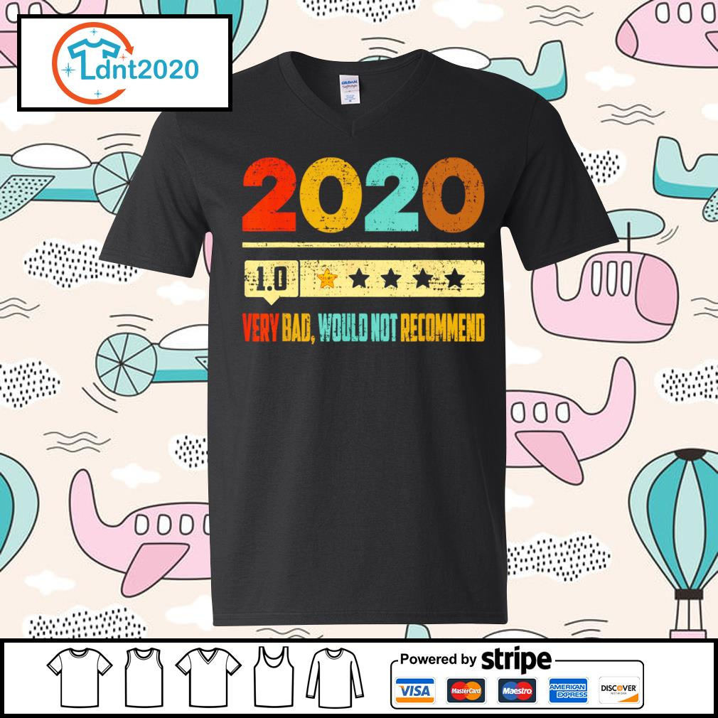 2020 1.0 very bad would not recommend vintage s v-neck-t-shirt