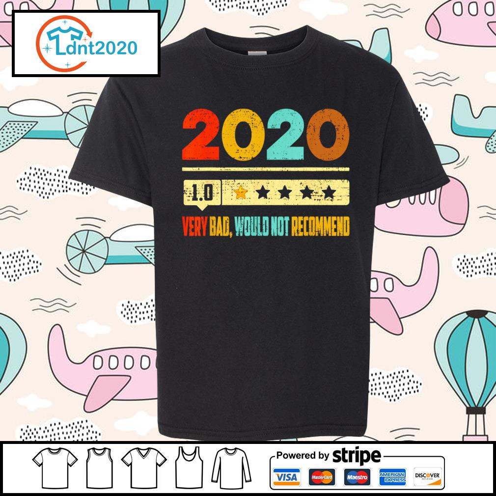2020 1.0 very bad would not recommend vintage s youth-tee