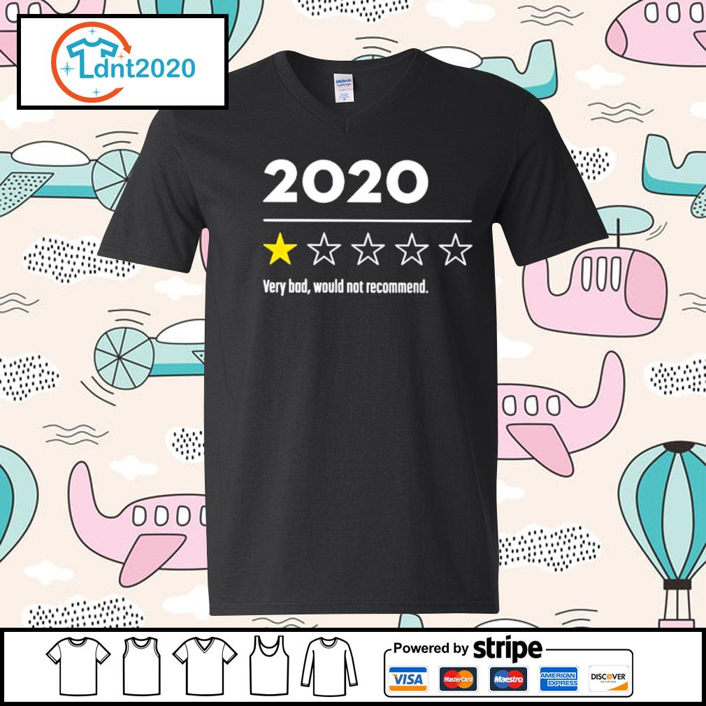 2020 very bad would not recommend s v-neck-t-shirt