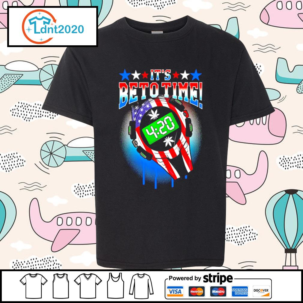 420 Time Legal Weed Beto O_Rourke support US President 2020 s youth-tee