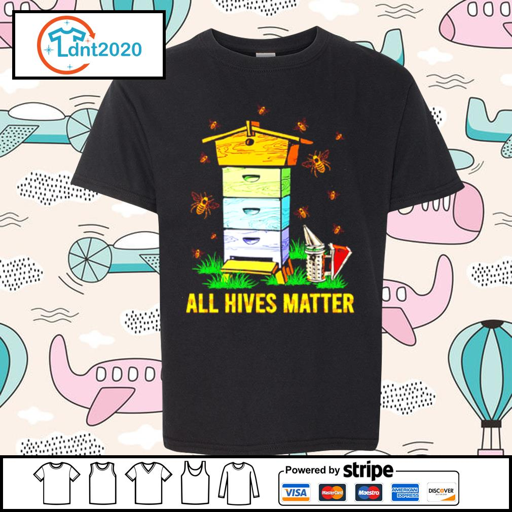 Bee and home all hives matter s youth-tee