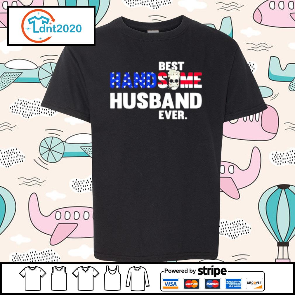 Best handsome husband ever skull s youth-tee