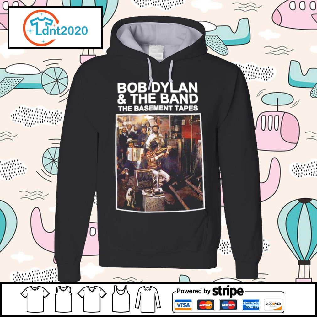 Bob Dylan and the band the basement tapes s hoodie