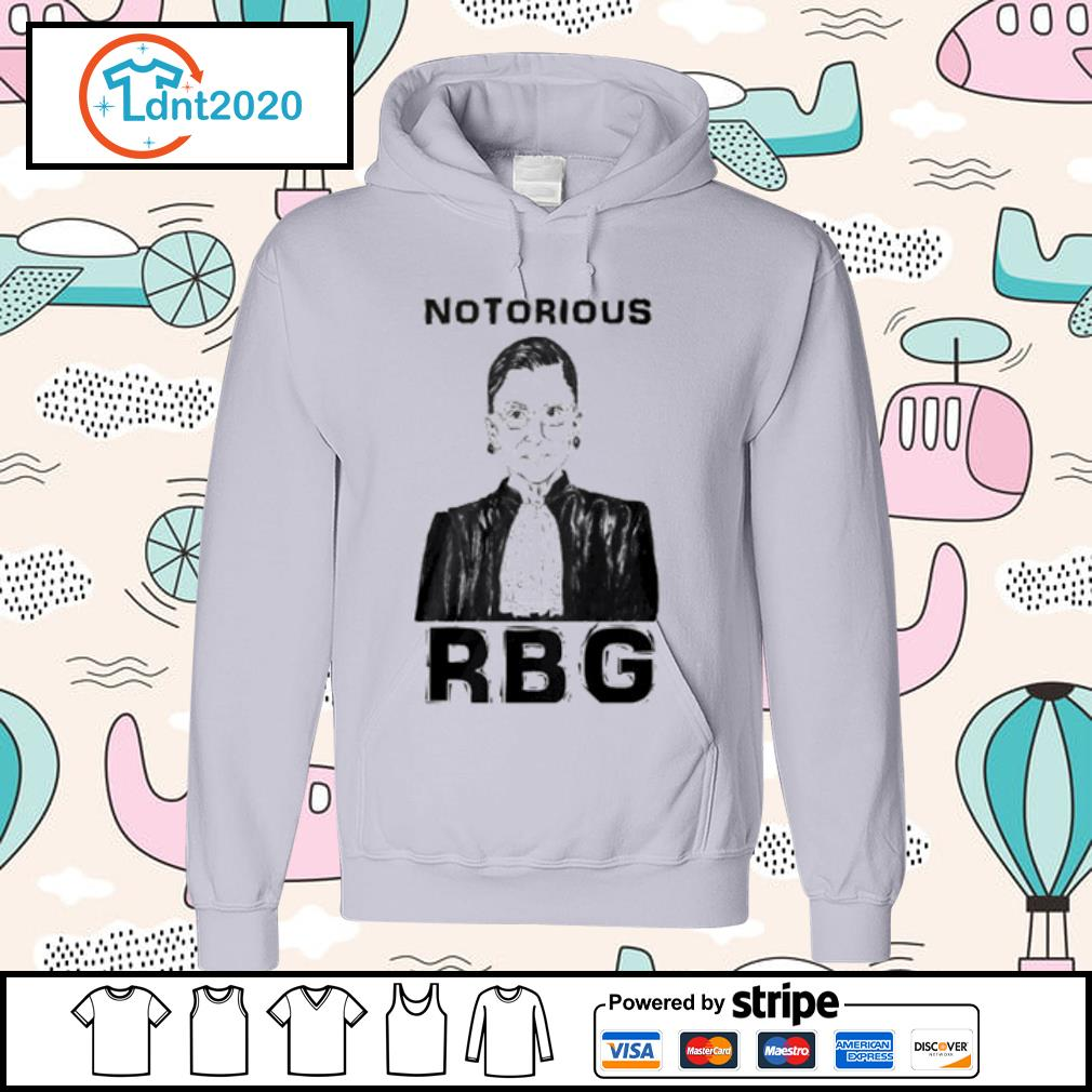 Celebrate the Notorious RBG Shirt hoodie