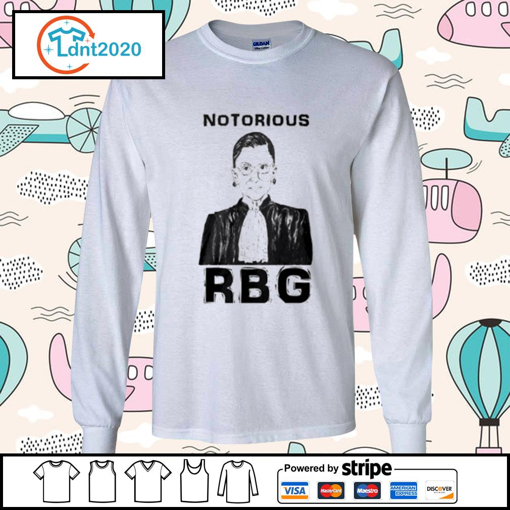 Celebrate the Notorious RBG Shirt longsleeve-tee