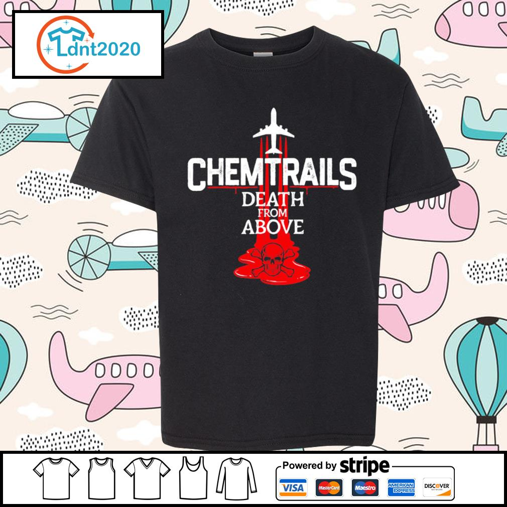 Chemtrails death from above s youth-tee