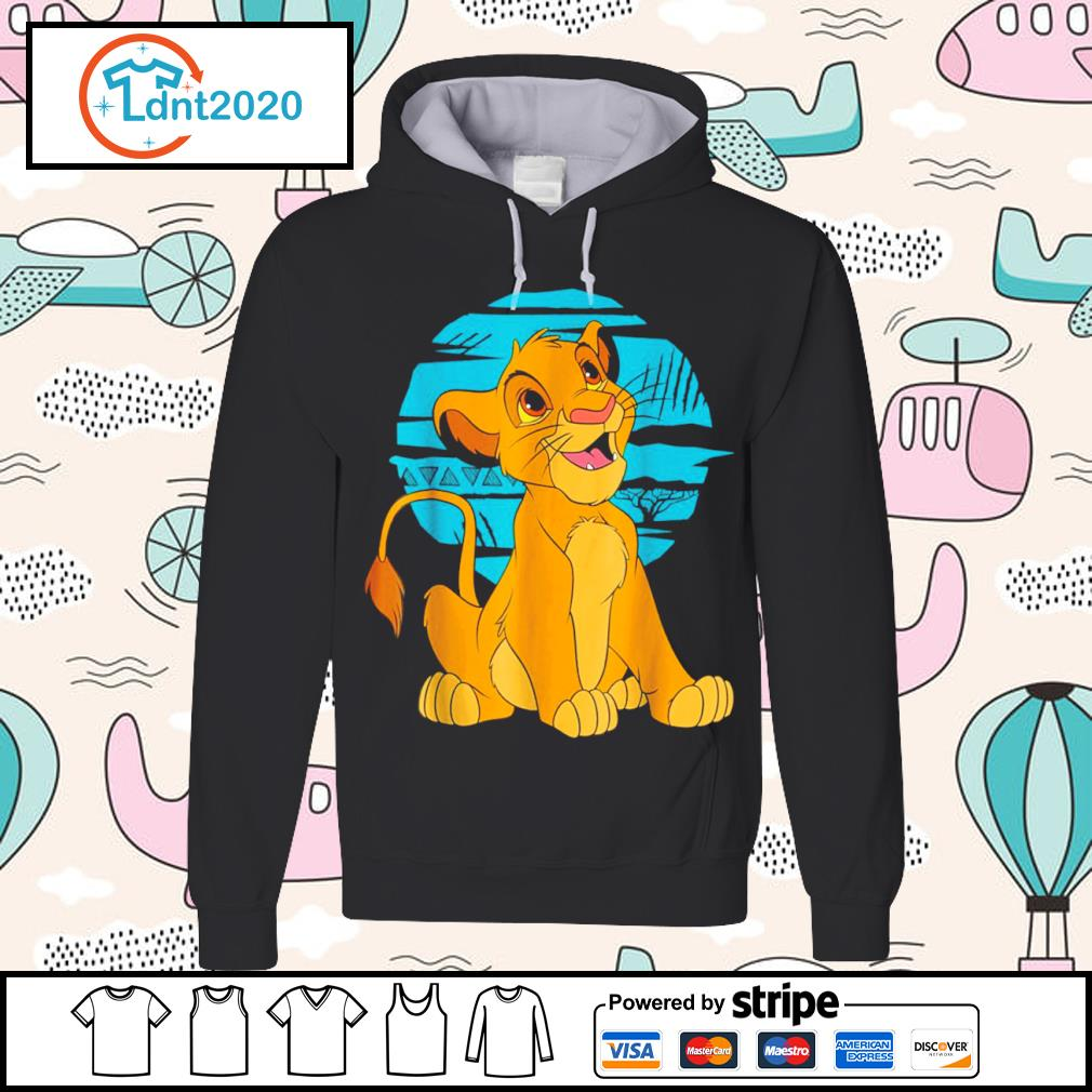 Disney The Lion King young Simba happy s hoodie
