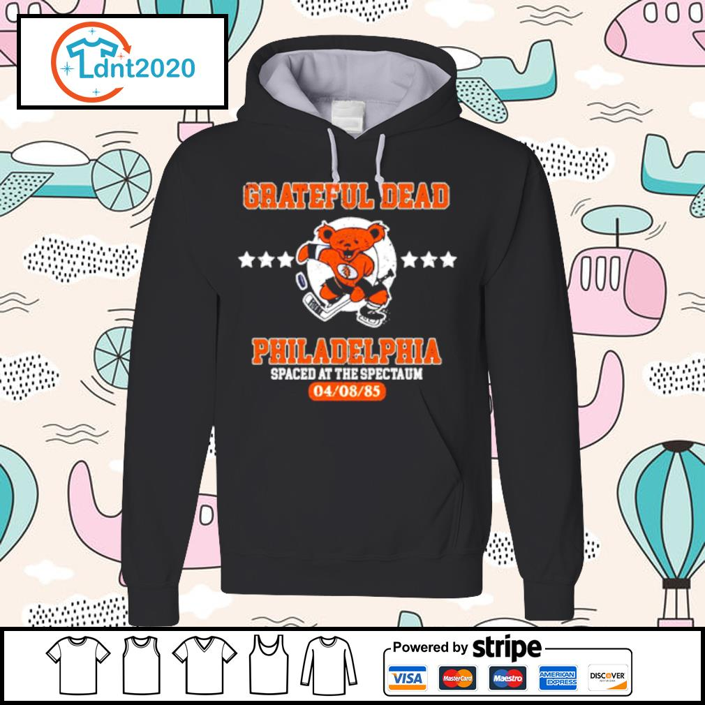 Grateful Dead Philadelphia Spaced at the spectaum s hoodie