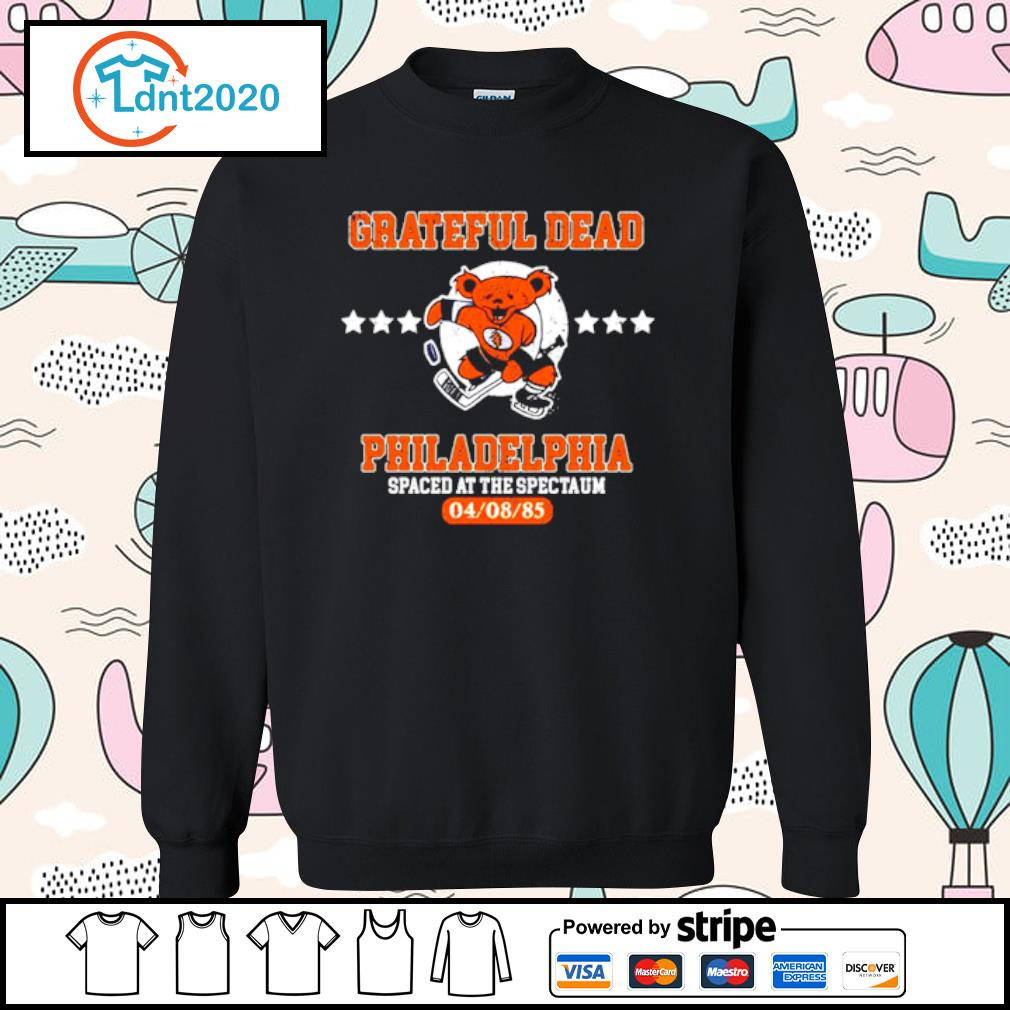 Grateful Dead Philadelphia Spaced at the spectaum s sweater