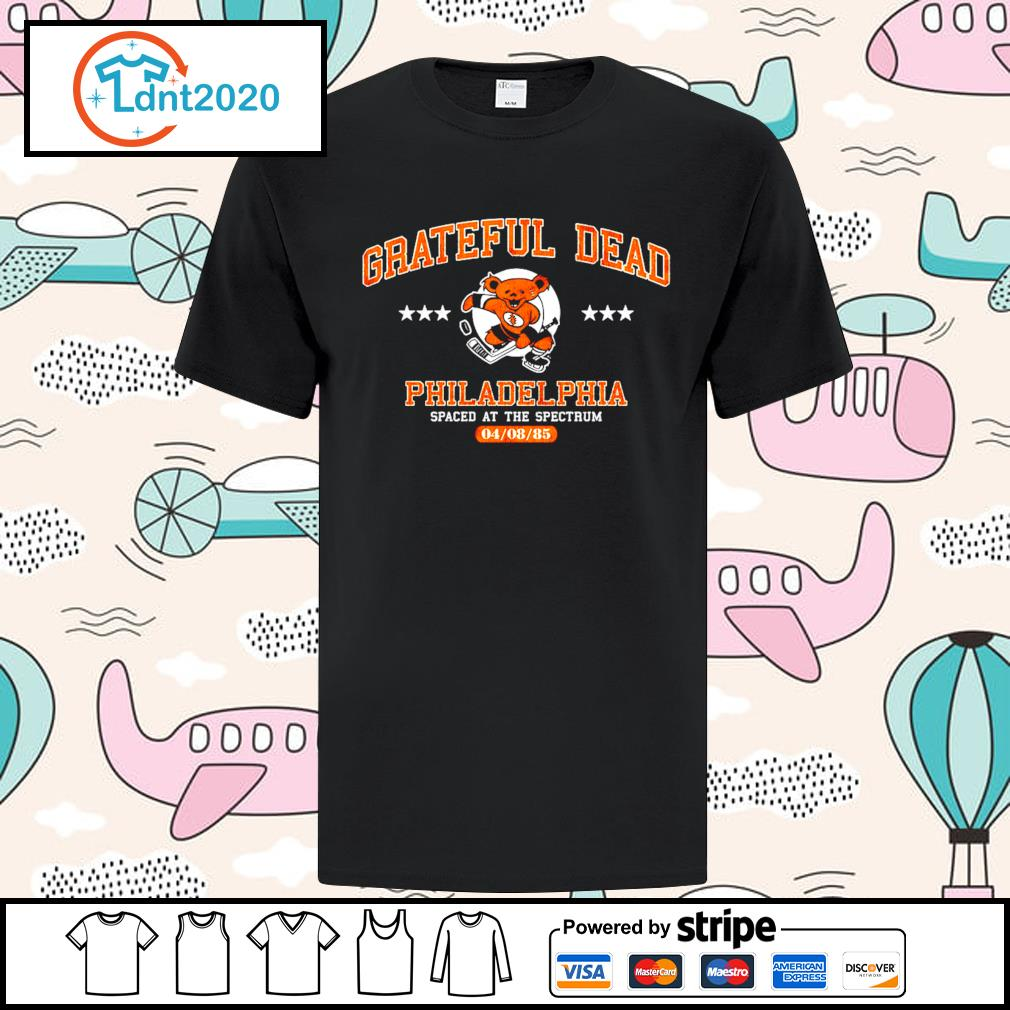 Grateful Dead Philadelphia spaced at the spectrum 04 08 85 shirt