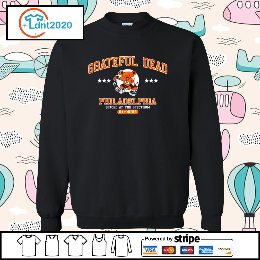 Grateful Dead Philadelphia spaced at the spectrum 04 08 85 s sweater