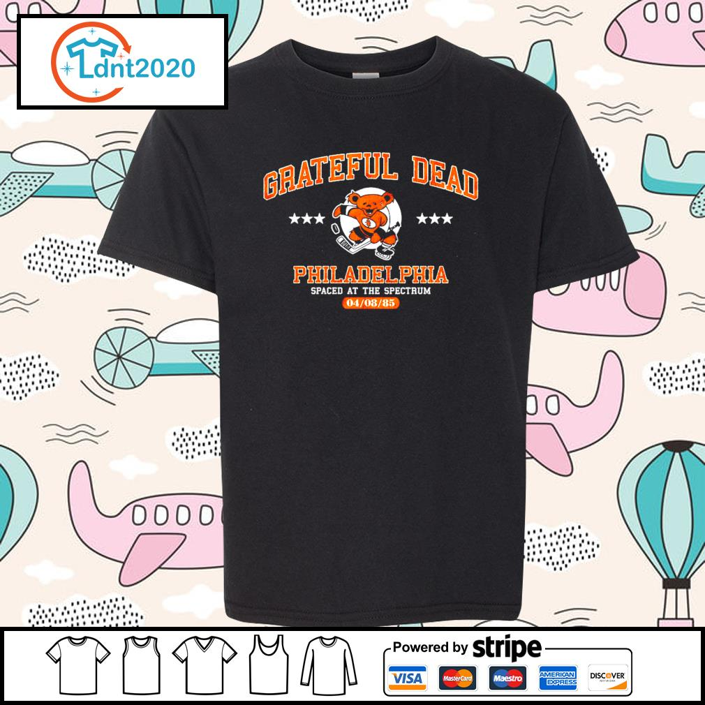 Grateful Dead Philadelphia spaced at the spectrum 04 08 85 s youth-tee