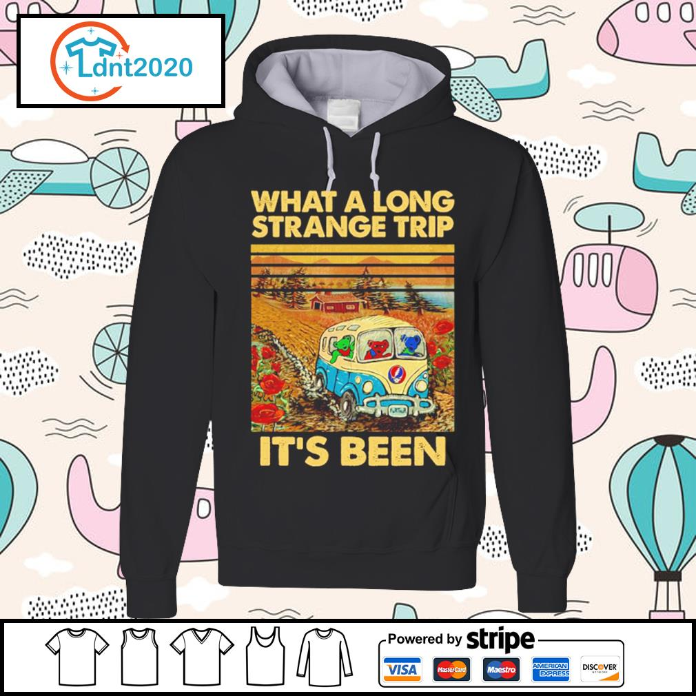 Grateful Dead what a long strange trip it's been vintage s hoodie
