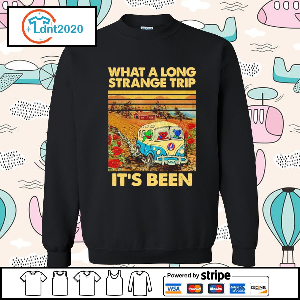 Grateful Dead what a long strange trip it's been vintage s sweater