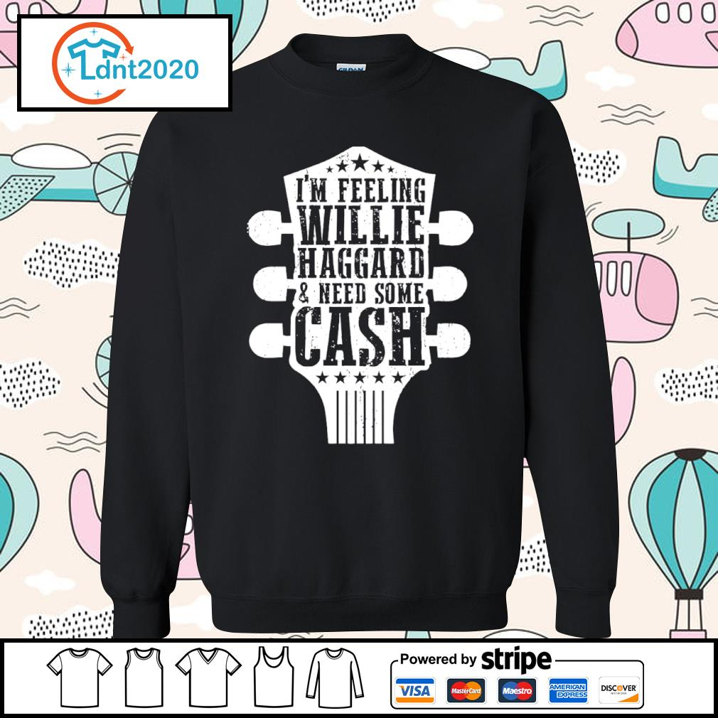 Guitar I'm feeling willie haggard and need some cash s sweater