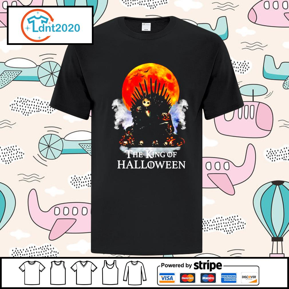 Halloween Game of Thrones the King of Halloween shirt