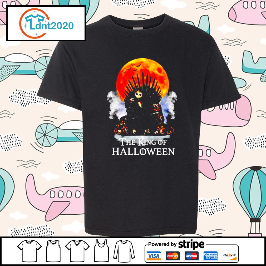 Halloween Game of Thrones the King of Halloween s youth-tee