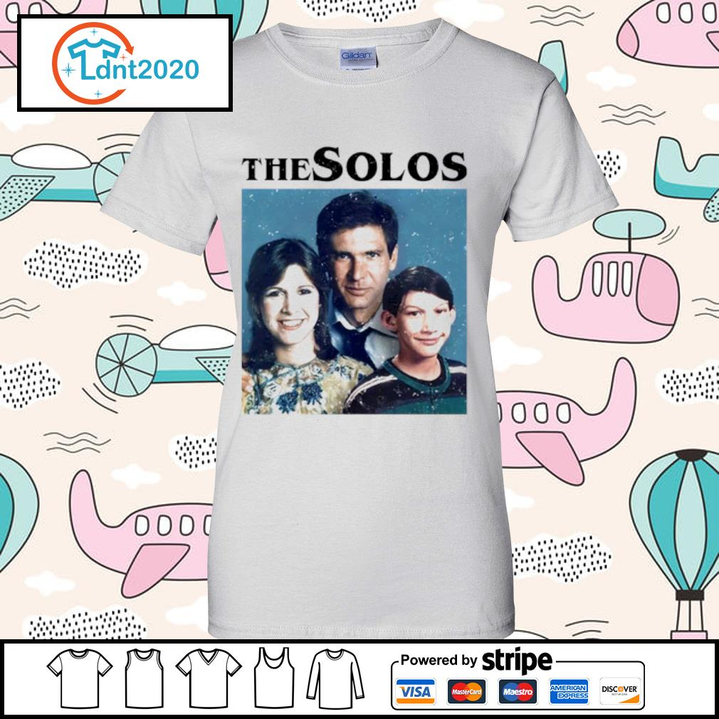 Han Solo Princess Leia Kylo Ren The Solos family s ladies-tee