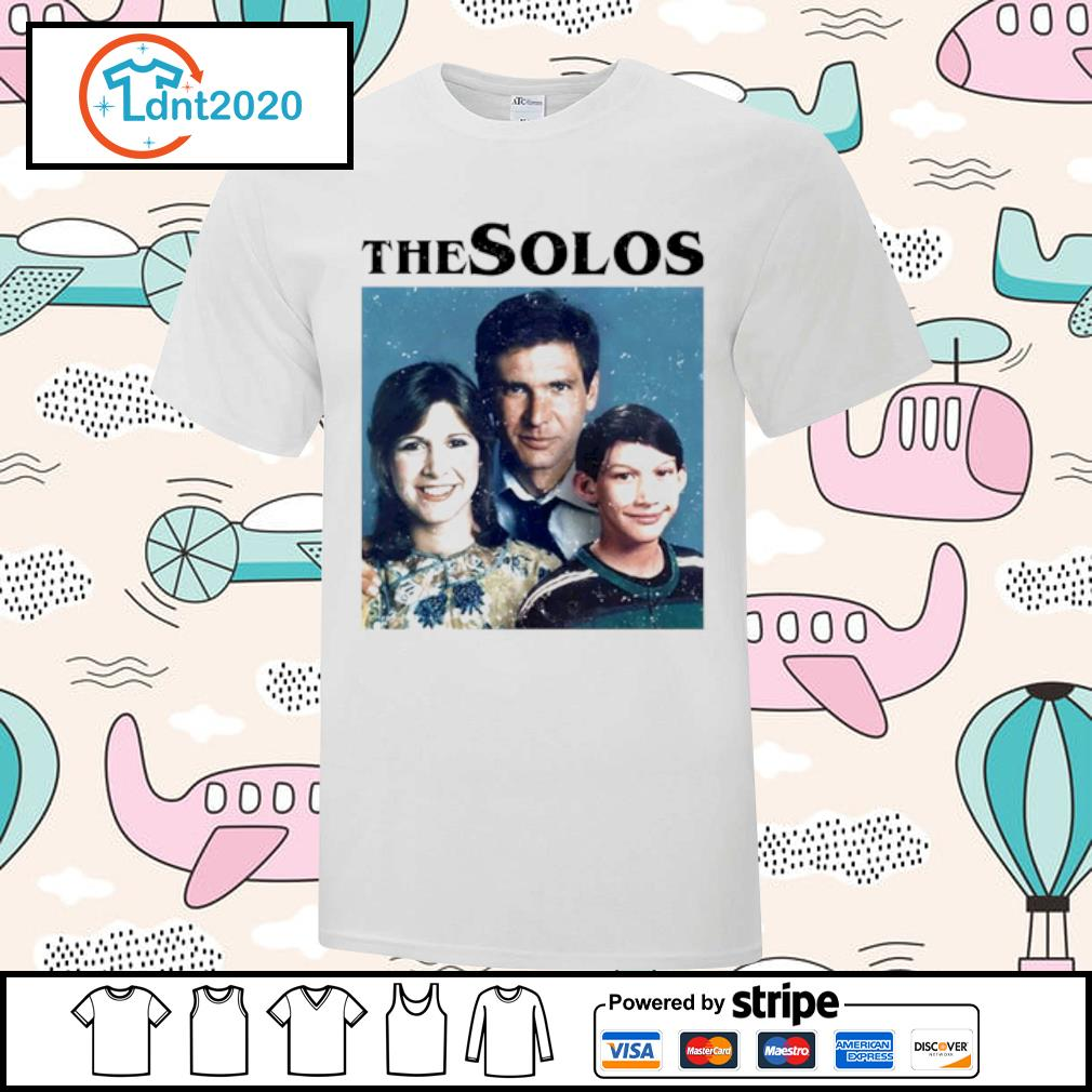 Han Solo Princess Leia Kylo Ren The Solos family shirt