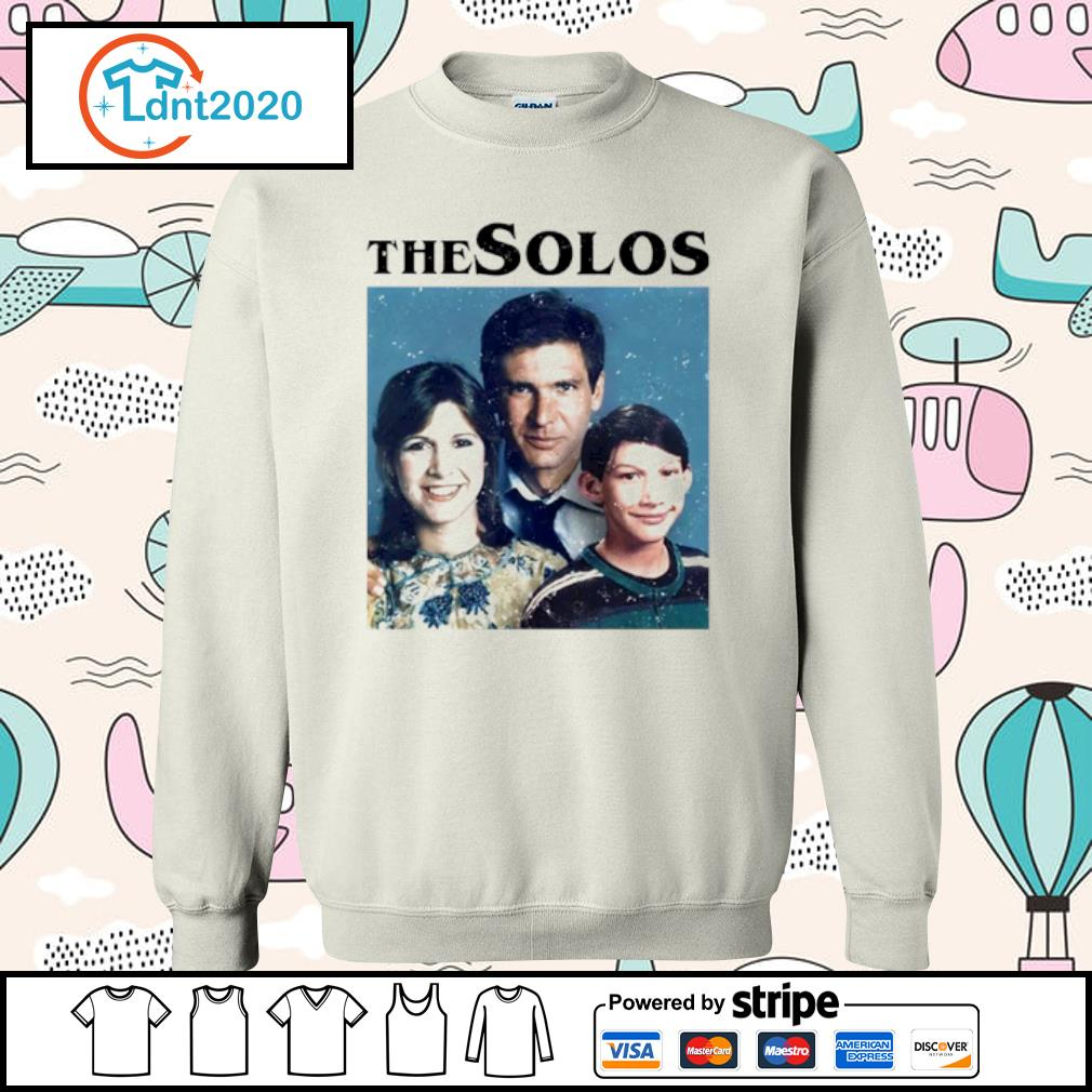 Han Solo Princess Leia Kylo Ren The Solos family s sweater
