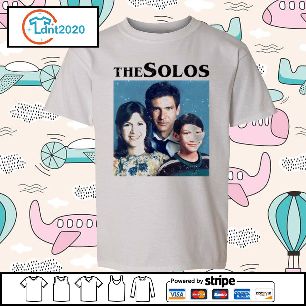 Han Solo Princess Leia Kylo Ren The Solos family s youth-tee