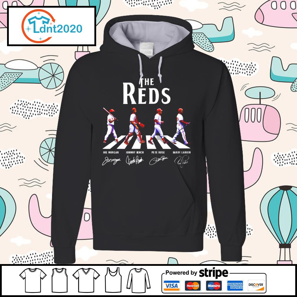 he Red Skins Abbey Road signatures s hoodie