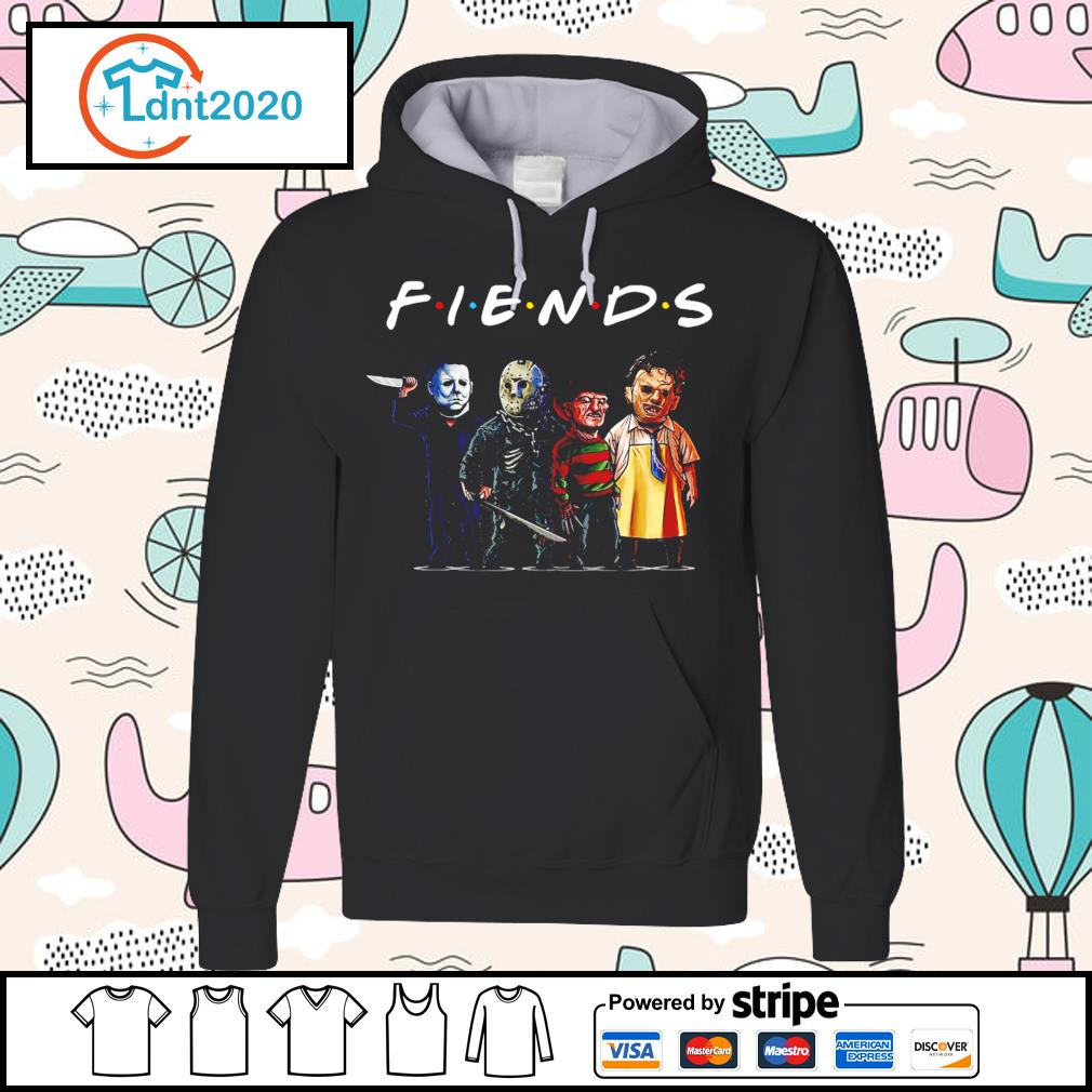 Horror movie characters friend TV show s hoodie