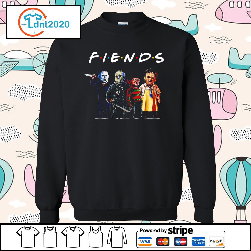 Horror movie characters friend TV show s sweater