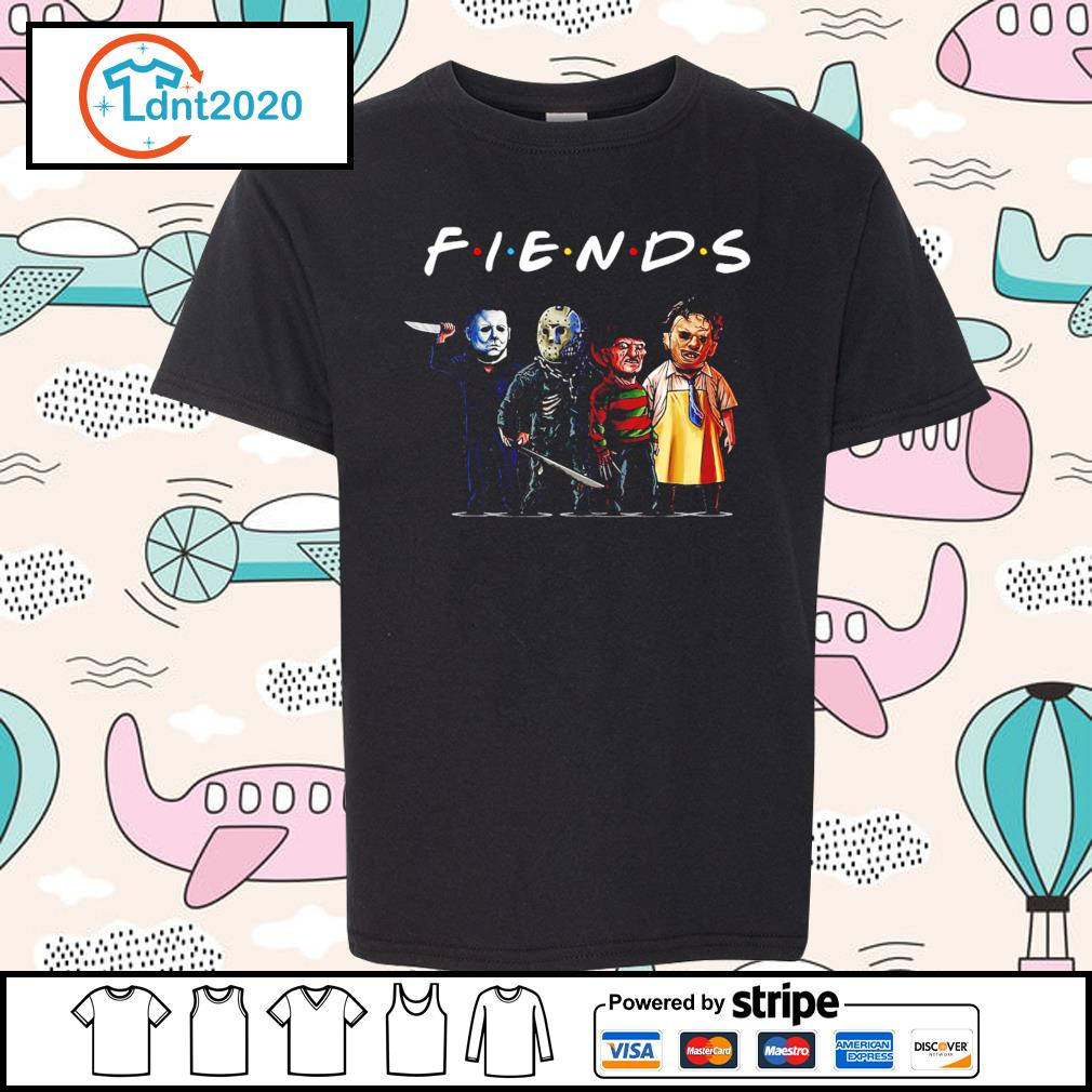Horror movie characters friend TV show s youth-tee