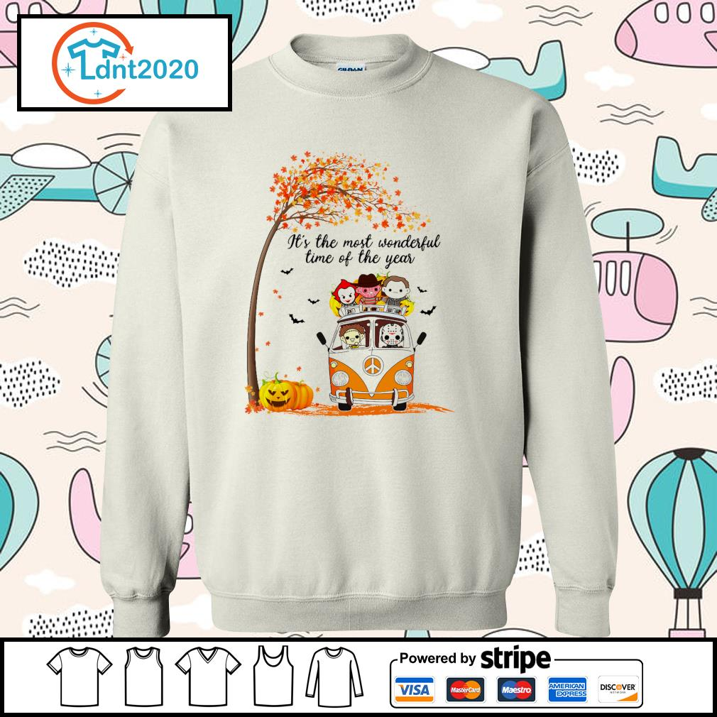 Horror Movies Character It_s the most wonderful time of the year Halloween s sweater
