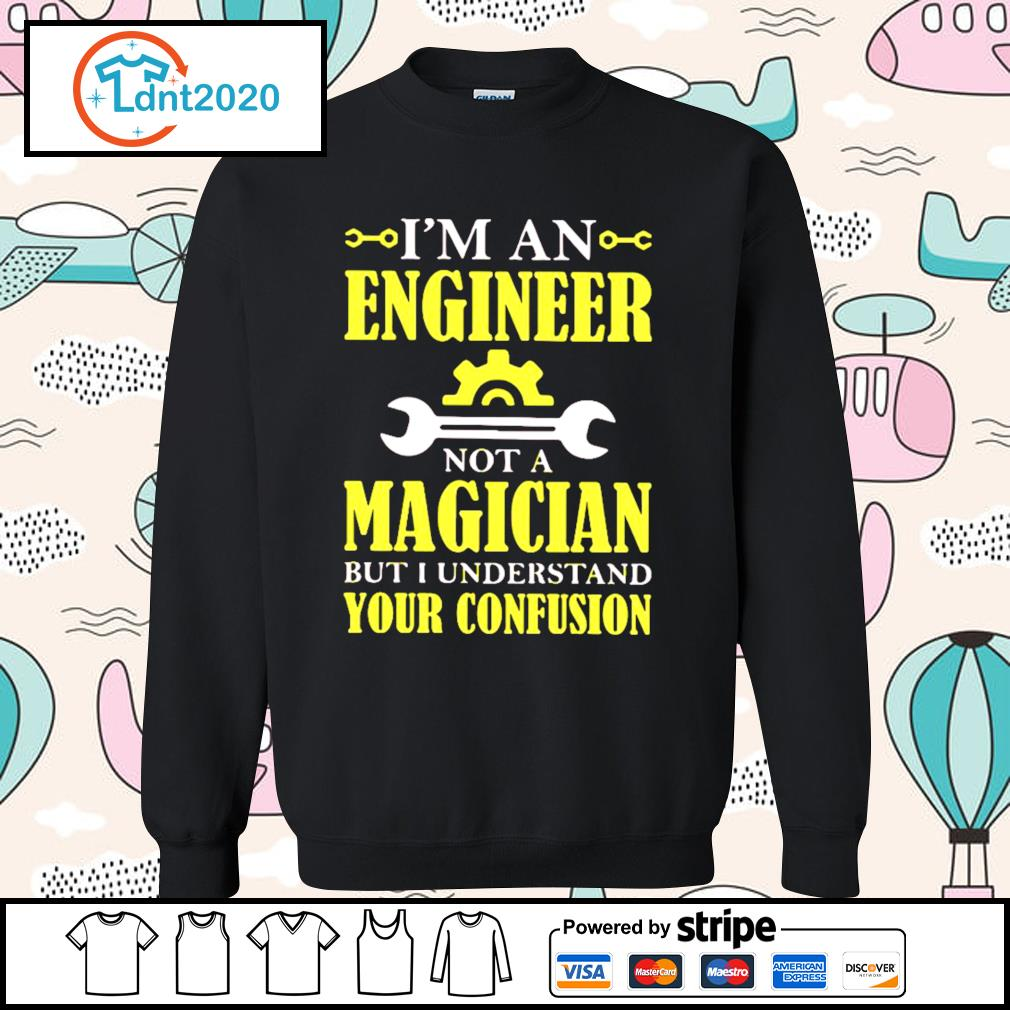 I'm an engineer not a magician but I understand your confusion s sweater