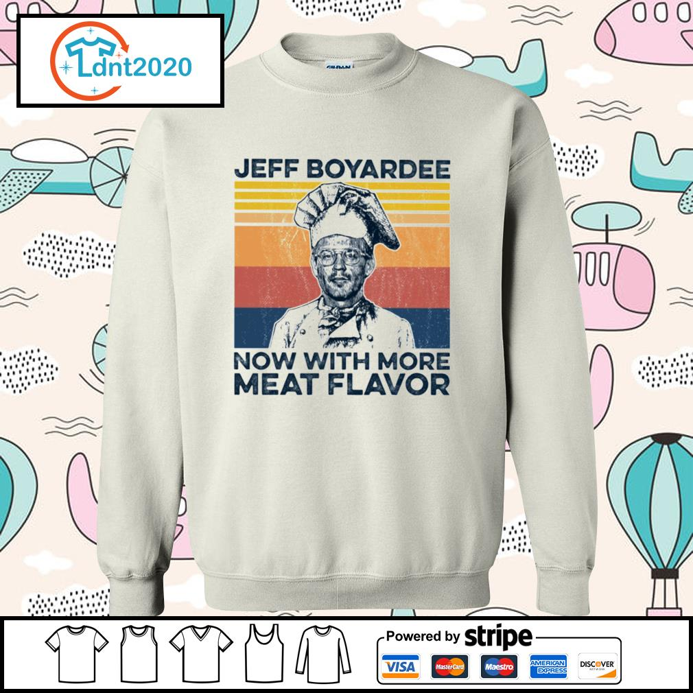 Jeff Boyardee now with more meat flavor vintage s sweater