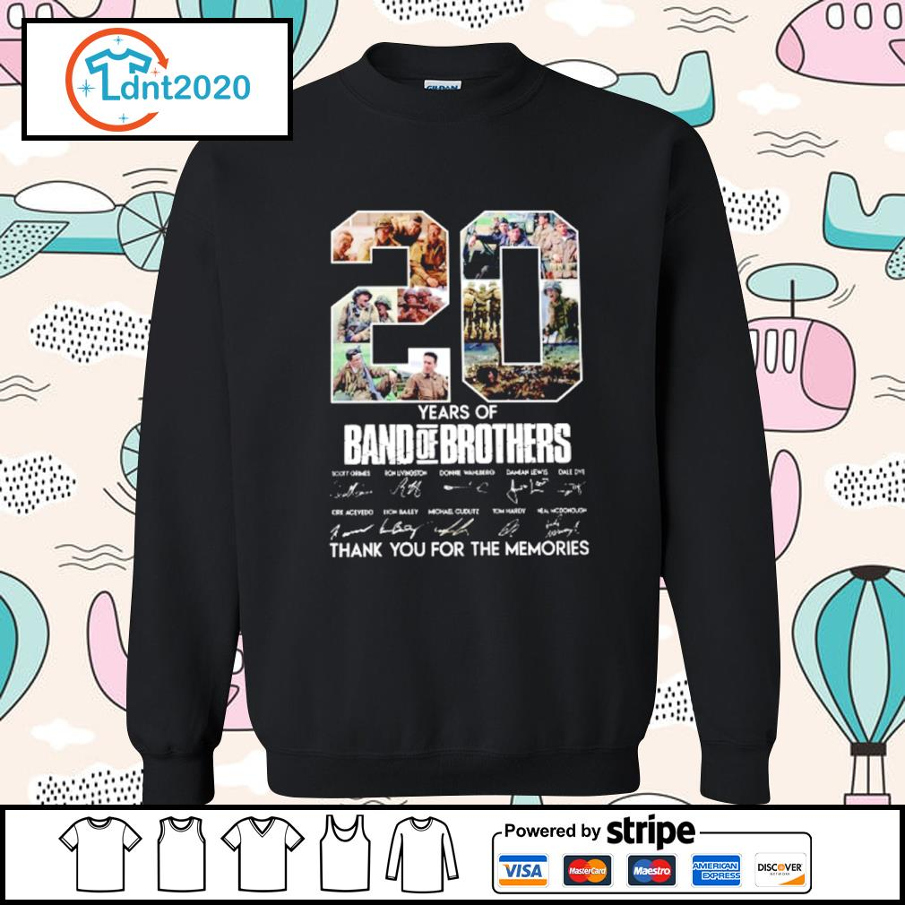 20 years of Band Of Brothers thank you for the memories s sweater