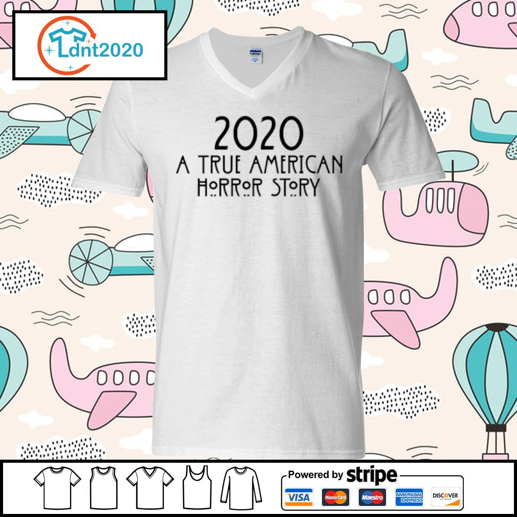 2020 a true American horror story s v-neck-t-shirt