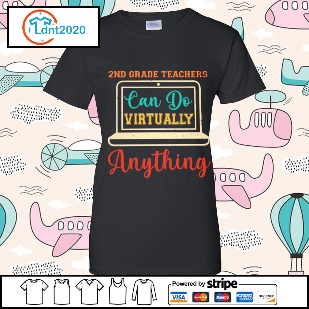 2nd grade can do virtually anything vintage s ladies-tee