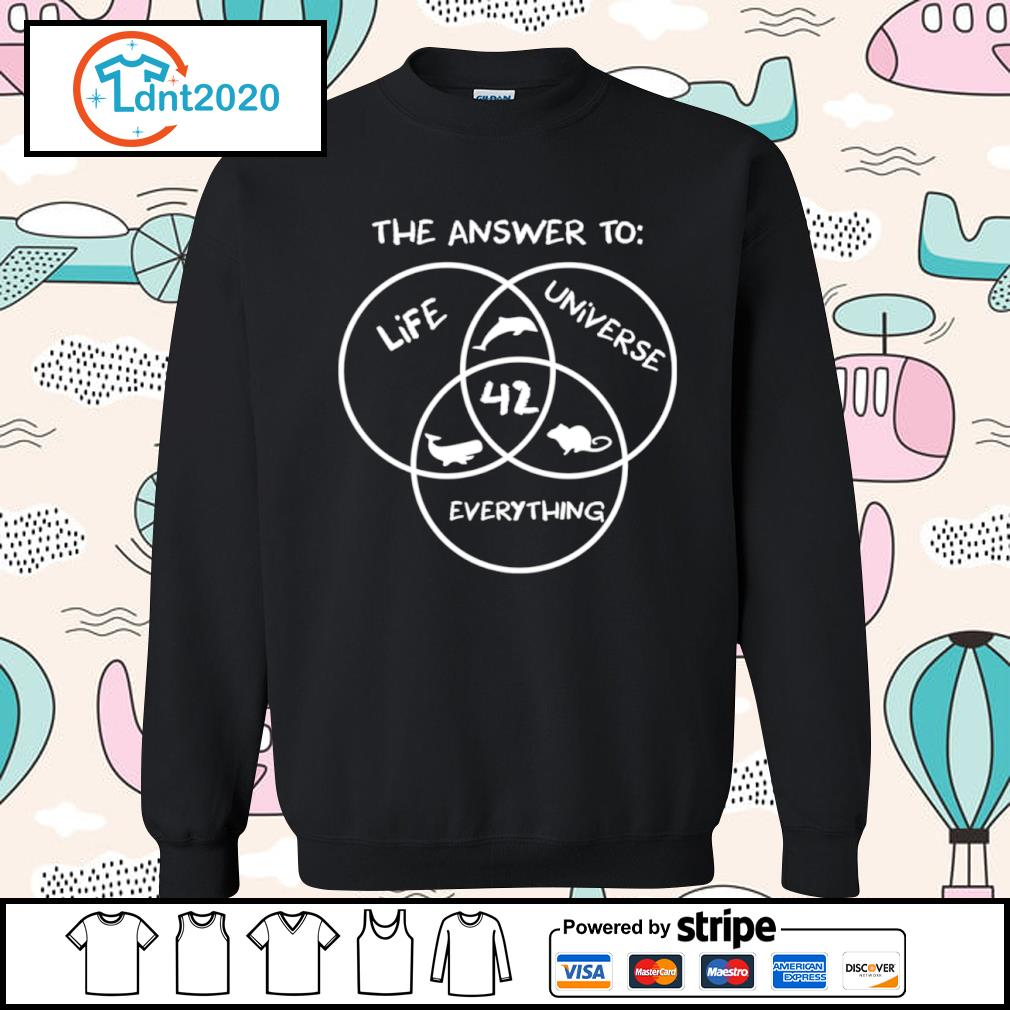 42 The answer to life universe everything s sweater