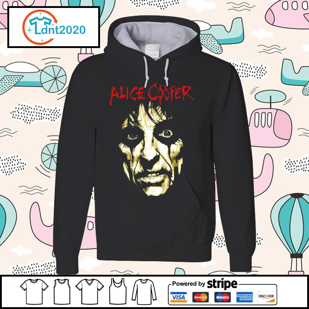 Alice Cooper Face s hoodie