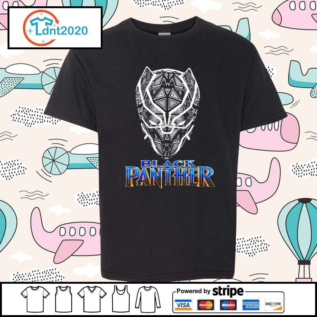 Black Panther s youth-tee