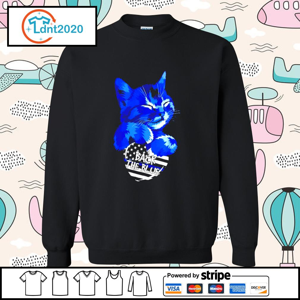 Cat Back The Blue s sweater