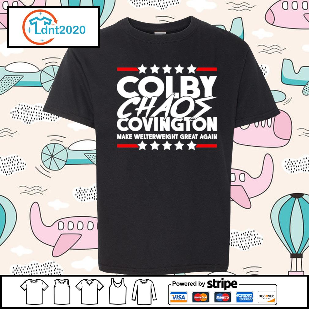 Colby Chaos Covington make welterweight great again s youth-tee