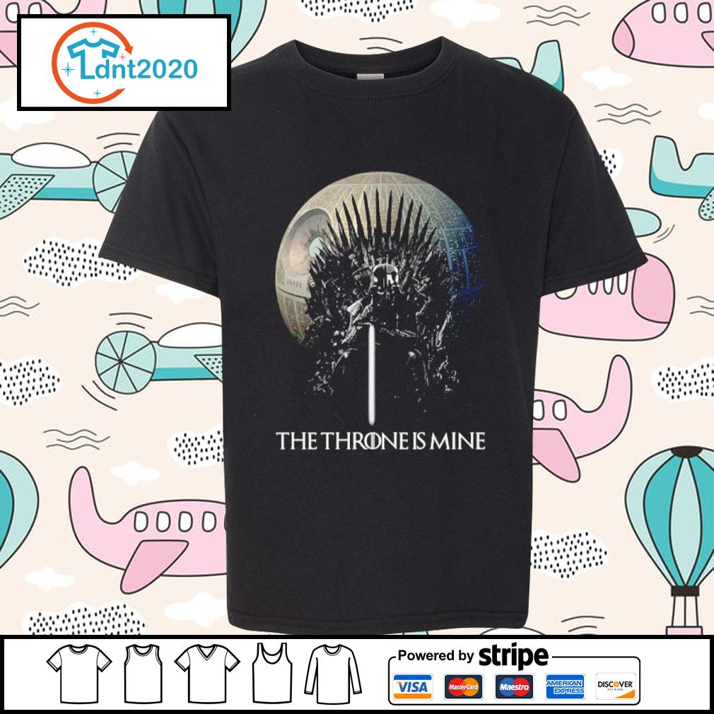 Darth Vader the Throne is mine s youth-tee
