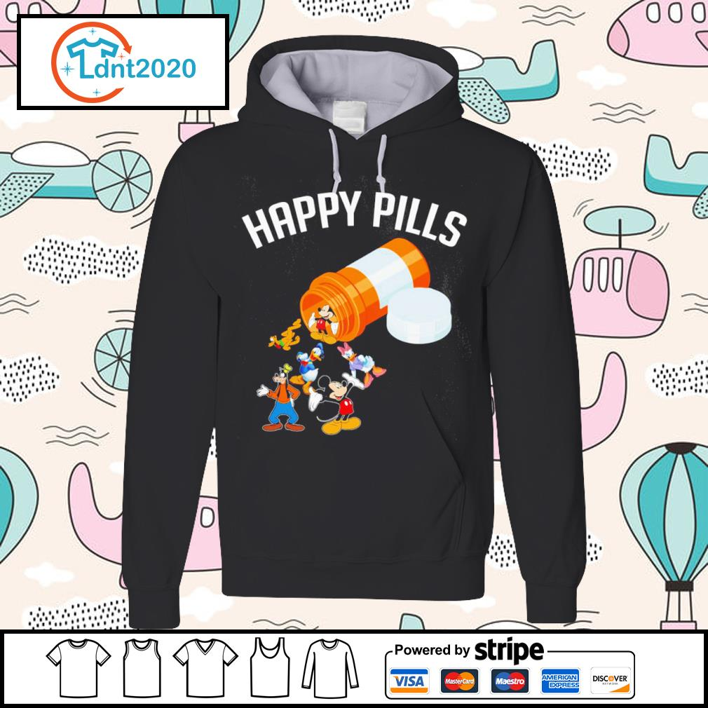 Disney Mickey Mouse and friends happy pills s hoodie