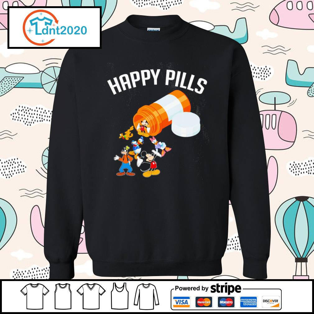 Disney Mickey Mouse and friends happy pills s sweater
