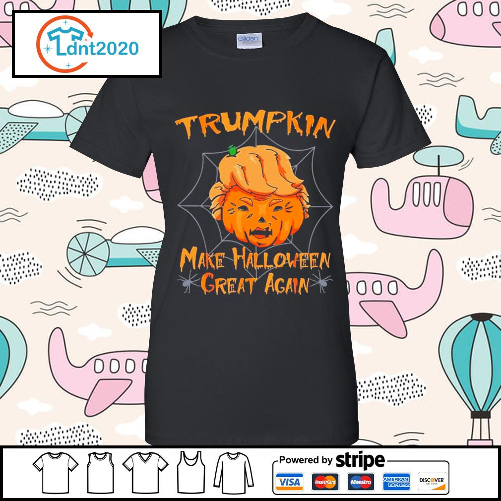 Donald Trump Trumpkin make Halloween great again s ladies-tee