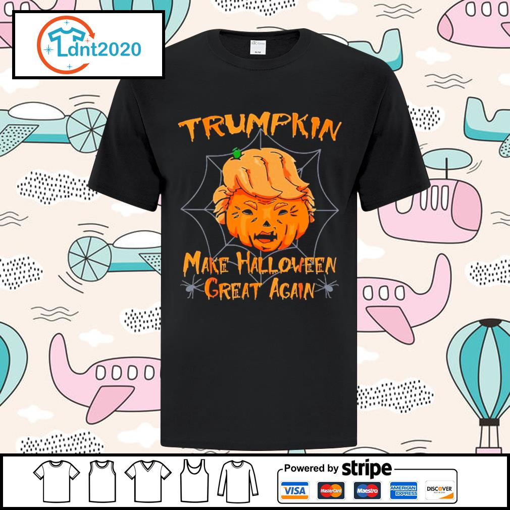 Donald Trump Trumpkin make Halloween great again shirt