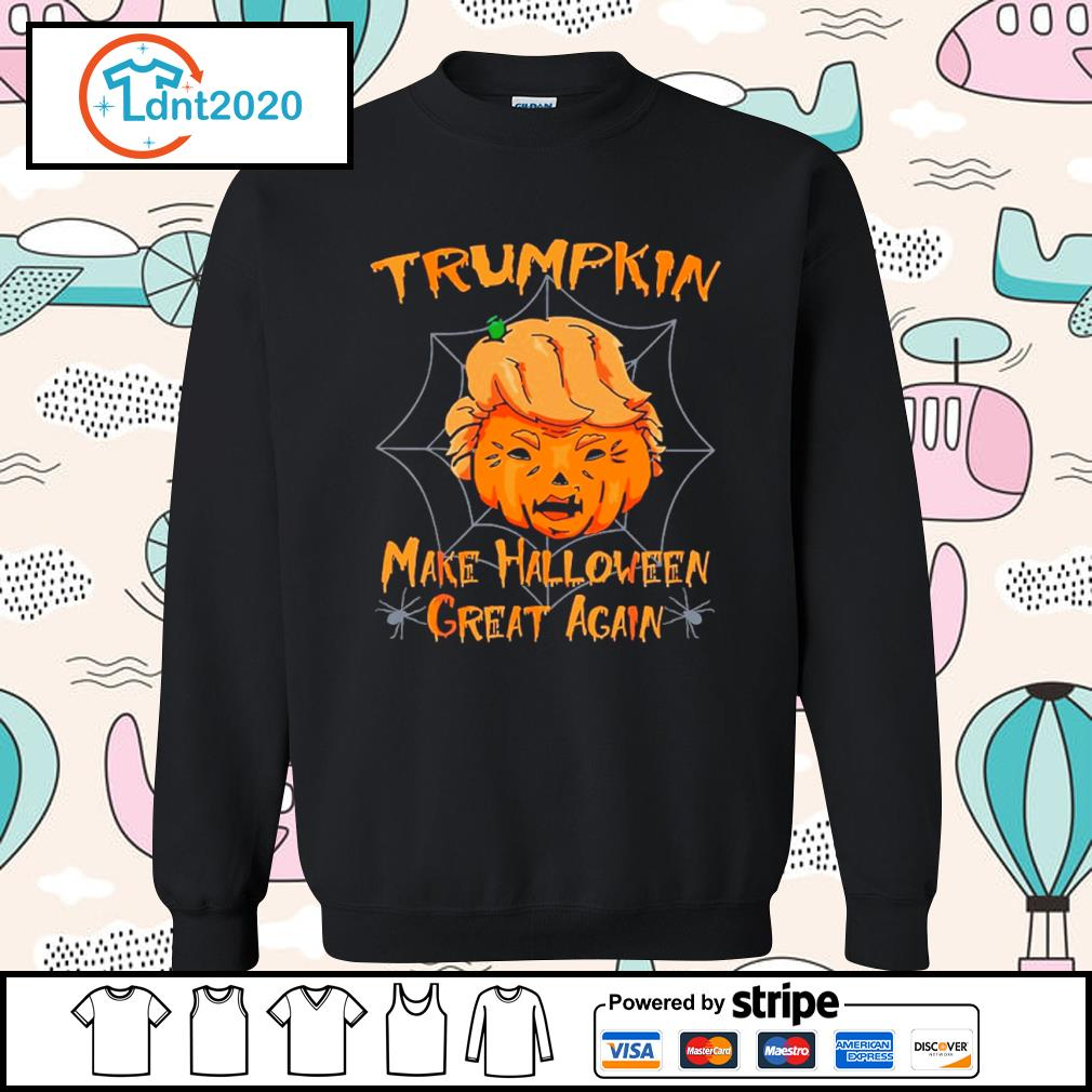 Donald Trump Trumpkin make Halloween great again s sweater