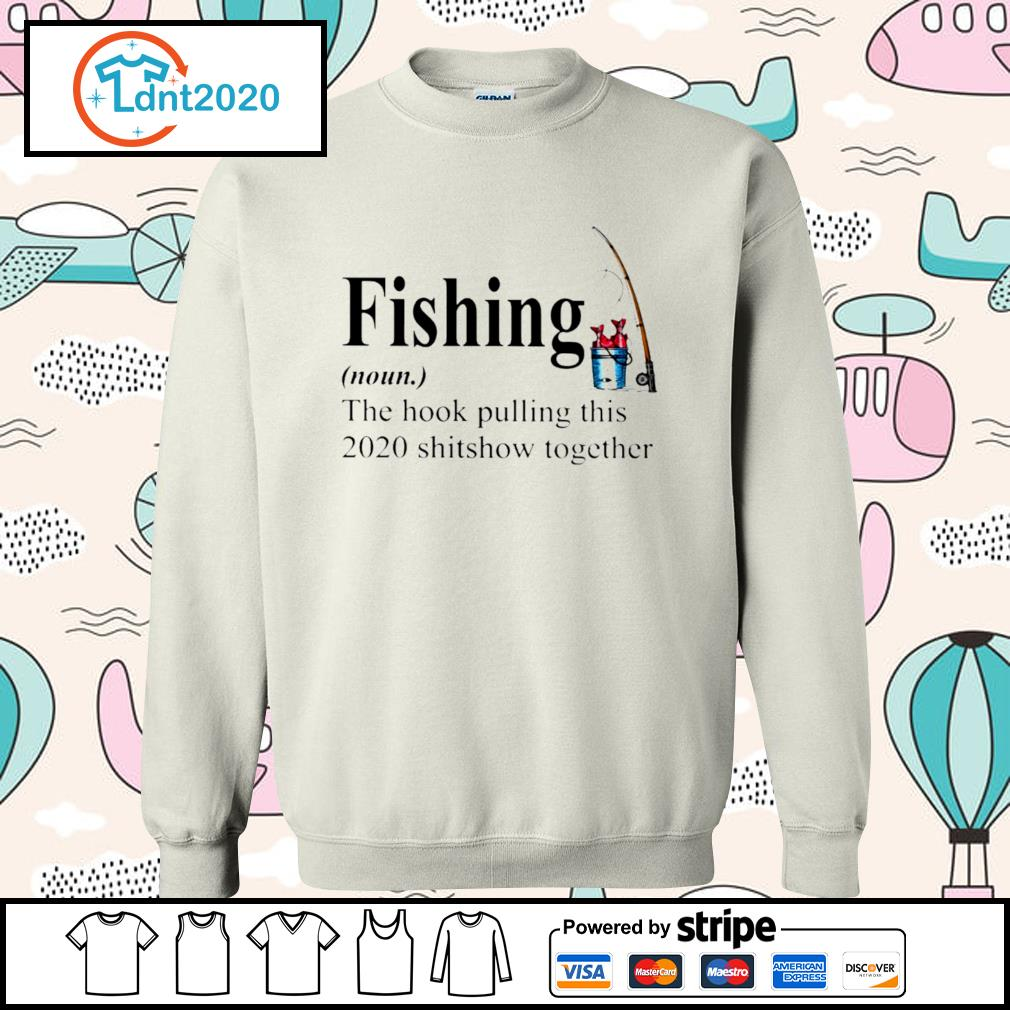 Fishing the hook pulling this 2020 shitsow together s sweater