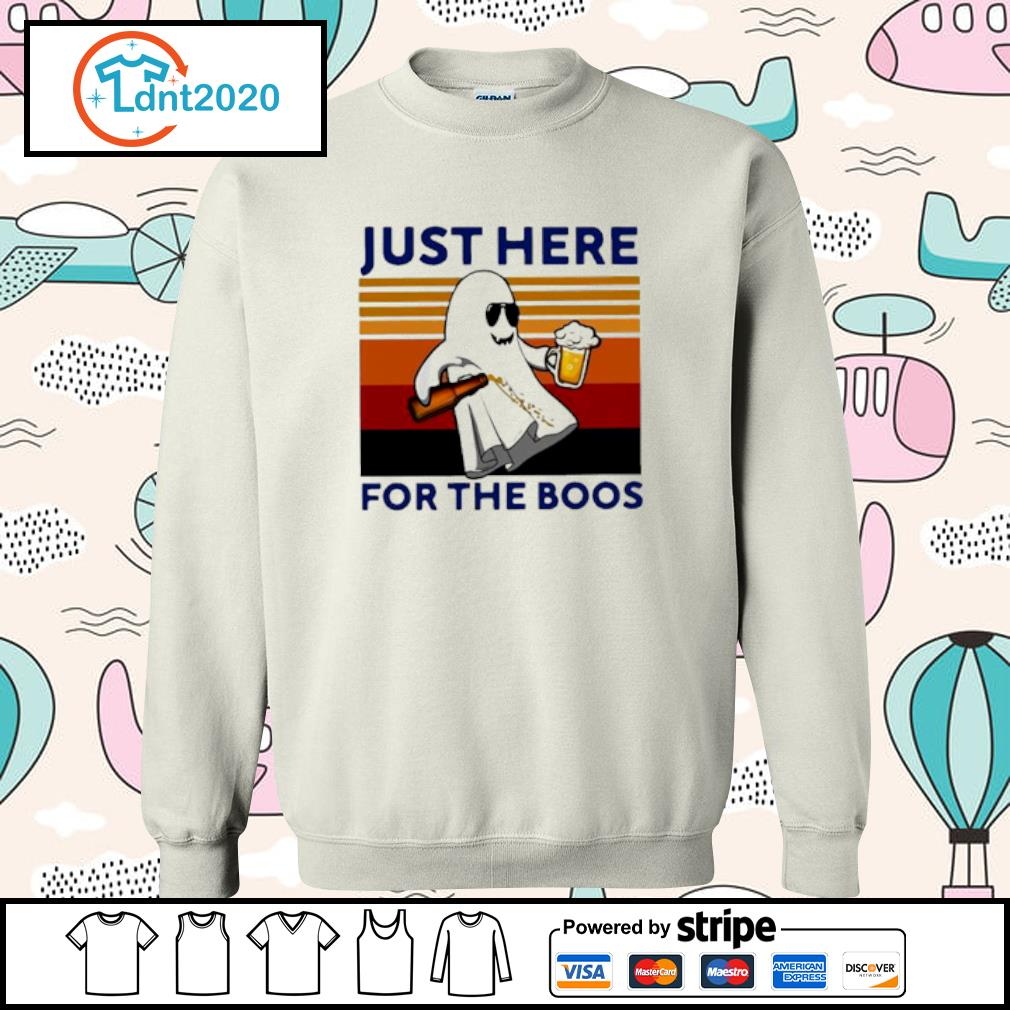 Ghost Beer Just Here For The Boos Vintage Shirt sweater
