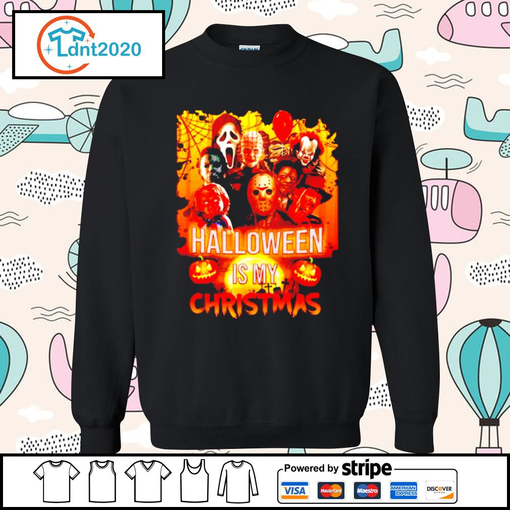 Halloween characters movie Halloween is my Christmas s sweater